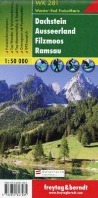 Freytag & Berndt Wander-, Rad- und Freizeitkarte Dachstein, Ausseerland, Filzmoos, Ramsau -  pdf epub