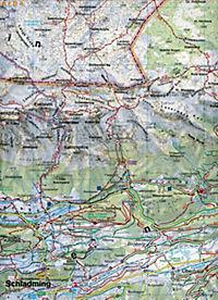 Freytag & Berndt Wander-, Rad- und Freizeitkarte Schladming, Ramsau am Dachstein, Haus im Ennstal, Filzmoos, Stoderzinke - Produktdetailbild 2