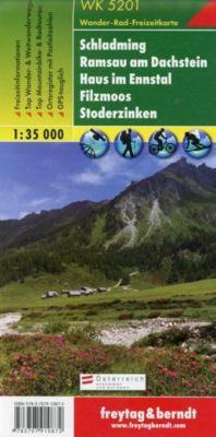 Freytag & Berndt Wander-, Rad- und Freizeitkarte Schladming, Ramsau am Dachstein, Haus im Ennstal, Filzmoos, Stoderzinke