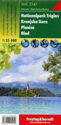 Freytag & Berndt Wander-, Rad- und Freizeitkarte Nationalpark Triglav, Kranjska Gora, Planica, Bled -  pdf epub
