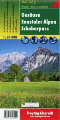 Freytag & Berndt Wander-, Rad- und Freizeitkarte Gesäuse, Ennstaler Alpen, Schoberpass -  pdf epub