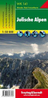 Freytag & Berndt Wander-, Rad- und Freizeitkarte Julische Alpen -  pdf epub