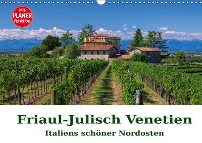 Friaul-Julisch Venetien - Italiens schöner Nordosten (Wandkalender 2019 DIN A3 quer), LianeM
