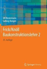 Frick/Knöll Baukonstruktionslehre