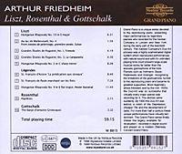 Friedheim Plays Liszt/Rosenthal/Gottschalk - Produktdetailbild 1