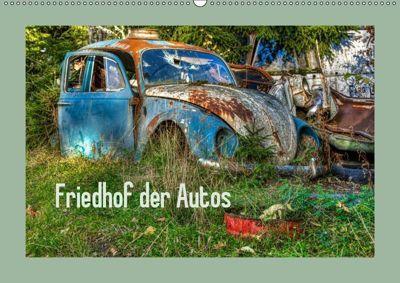 Friedhof der Autos (Wandkalender 2019 DIN A2 quer), Dirk Rosin