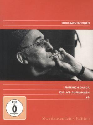 Friedrich Gulda - Live-Aufnahmen, 8 DVDs
