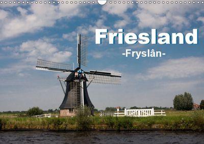 Friesland - Fryslan (Wandkalender 2019 DIN A3 quer), Carina-Fotografie