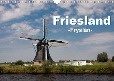 Friesland - Fryslan (Wandkalender 2019 DIN A4 quer), Carina-Fotografie