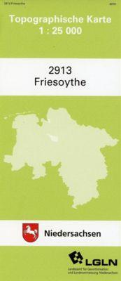 Friesoythe 1 : 25 000. (TK 2913/N)