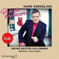 Frisch hapeziert, 2 Audio-CDs, Hape Kerkeling