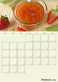 Frisch und fruchtig - Gelees und Konfitüren (Wandkalender 2018 DIN A3 hoch) - Produktdetailbild 2