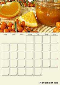 Frisch und fruchtig - Gelees und Konfitüren (Wandkalender 2018 DIN A3 hoch) - Produktdetailbild 11
