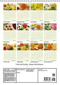 Frisch und fruchtig - Gelees und Konfitüren (Wandkalender 2018 DIN A3 hoch) - Produktdetailbild 13