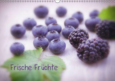 Frische Früchte (Wandkalender immerwährend DIN A3 quer), Tanja Riedel