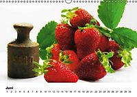 Frische Früchte (Wandkalender immerwährend DIN A3 quer) - Produktdetailbild 6