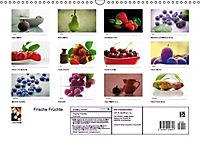 Frische Früchte (Wandkalender immerwährend DIN A3 quer) - Produktdetailbild 13