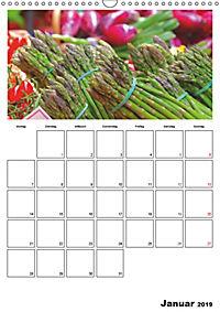 Frisches Gemüse (Wandkalender 2019 DIN A3 hoch) - Produktdetailbild 1