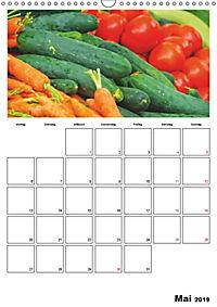 Frisches Gemüse (Wandkalender 2019 DIN A3 hoch) - Produktdetailbild 5