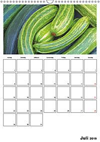 Frisches Gemüse (Wandkalender 2019 DIN A3 hoch) - Produktdetailbild 7