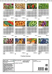 Frisches Gemüse (Wandkalender 2019 DIN A3 hoch) - Produktdetailbild 13