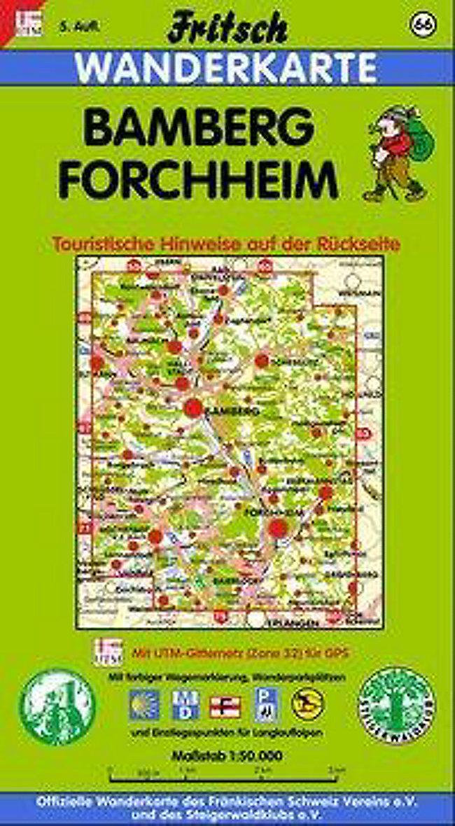 Karte Bamberg.Fritsch Karte Bamberg Forchheim Buch Bei Weltbild De