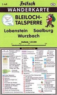 Fritsch Karte - Bleiloch-Talsperre