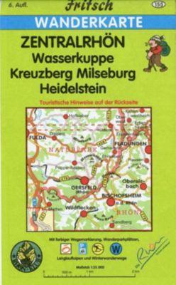 Fritsch Karte - Zentralrhön
