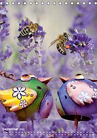 Fröhlich-bunte Gartendekos (Tischkalender 2019 DIN A5 hoch) - Produktdetailbild 9