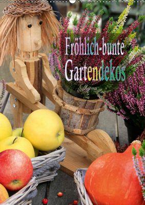 Fröhlich-bunte Gartendekos (Wandkalender 2019 DIN A2 hoch), Heinz Schmidbauer