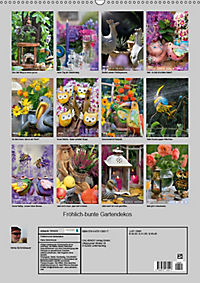 Fröhlich-bunte Gartendekos (Wandkalender 2019 DIN A2 hoch) - Produktdetailbild 13