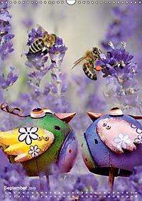 Fröhlich-bunte Gartendekos (Wandkalender 2019 DIN A3 hoch) - Produktdetailbild 7