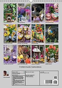 Fröhlich-bunte Gartendekos (Wandkalender 2019 DIN A3 hoch) - Produktdetailbild 12