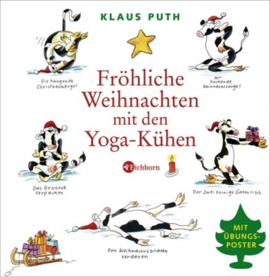 fr hliche weihnachten mit den yoga k hen buch. Black Bedroom Furniture Sets. Home Design Ideas