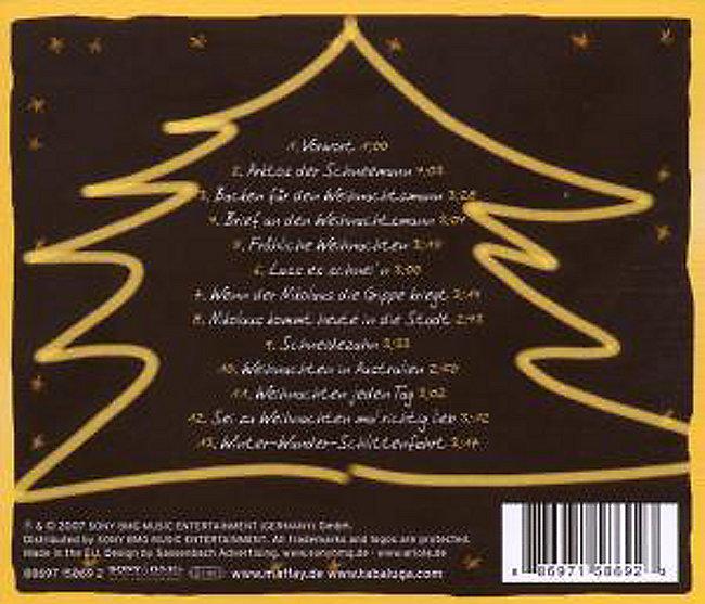 Frohe Weihnachten Cd.Frohe Weihnachten Mit Tabaluga Peter Maffay Seinen