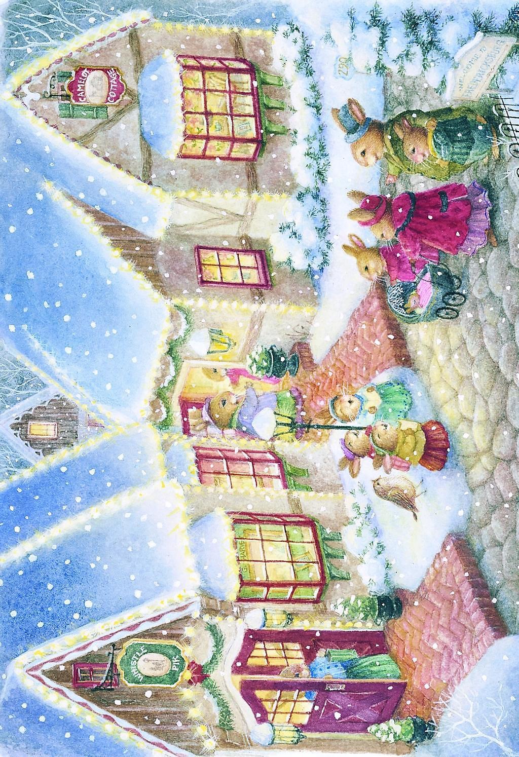 Weltbild Weihnachtskarten.Frohe Weihnachten Weihnachtskarten Set Bestellen Weltbild De