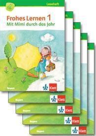 Frohes Lernen, Fibel, Ausgabe Bayern 2014: 1. Schuljahr, 5 Lesehefte