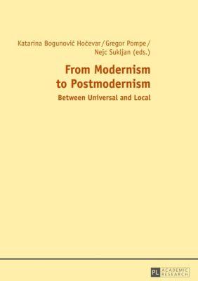 From Modernism to Postmodernism, Gregor Pompe, Katarina Bogunovic Hocevar, Nejc Sukljan