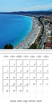 From Nice to San Remo (Wall Calendar 2019 300 × 300 mm Square) - Produktdetailbild 1