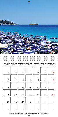 From Nice to San Remo (Wall Calendar 2019 300 × 300 mm Square) - Produktdetailbild 2