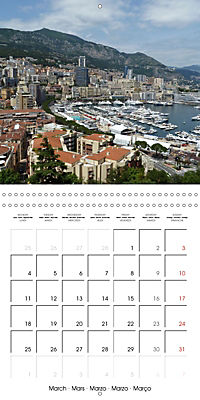 From Nice to San Remo (Wall Calendar 2019 300 × 300 mm Square) - Produktdetailbild 3