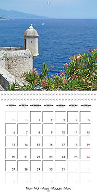 From Nice to San Remo (Wall Calendar 2019 300 × 300 mm Square) - Produktdetailbild 5