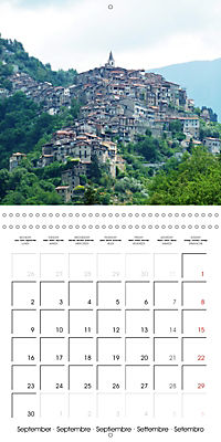 From Nice to San Remo (Wall Calendar 2019 300 × 300 mm Square) - Produktdetailbild 9