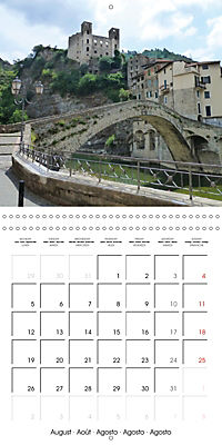 From Nice to San Remo (Wall Calendar 2019 300 × 300 mm Square) - Produktdetailbild 8