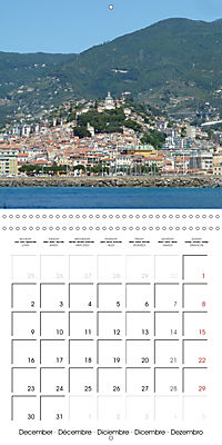 From Nice to San Remo (Wall Calendar 2019 300 × 300 mm Square) - Produktdetailbild 12