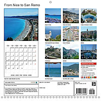 From Nice to San Remo (Wall Calendar 2019 300 × 300 mm Square) - Produktdetailbild 13