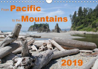 From Pacific to the Mountains 2019 (Wall Calendar 2019 DIN A4 Landscape), Frank Zimmermann