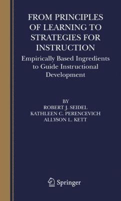 the principles and techniques of instruction Keywords: teaching methods primary education teacher's profession,   teaching methods with principle of knowledge constructing in specific increments  the.