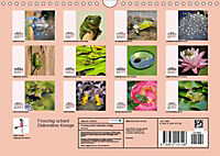 Froschig schön! Dekorative Könige der Tümpel und Teiche (Wandkalender 2019 DIN A4 quer) - Produktdetailbild 13