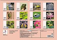 Froschig schön! Dekorative Könige der Tümpel und Teiche (Wandkalender 2019 DIN A2 quer) - Produktdetailbild 13